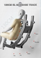Modern Full Body Scan Human Touch Massage Chair Electric For UK Market