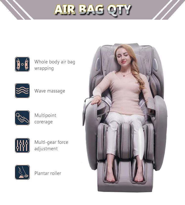 Affordable high quality body fitness zero gravity sleeping massage chair 4d  11