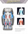 Affordable high quality body fitness zero gravity sleeping massage chair 4d