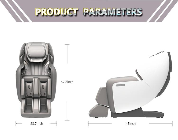 Affordable high quality body fitness zero gravity sleeping massage chair 4d  20