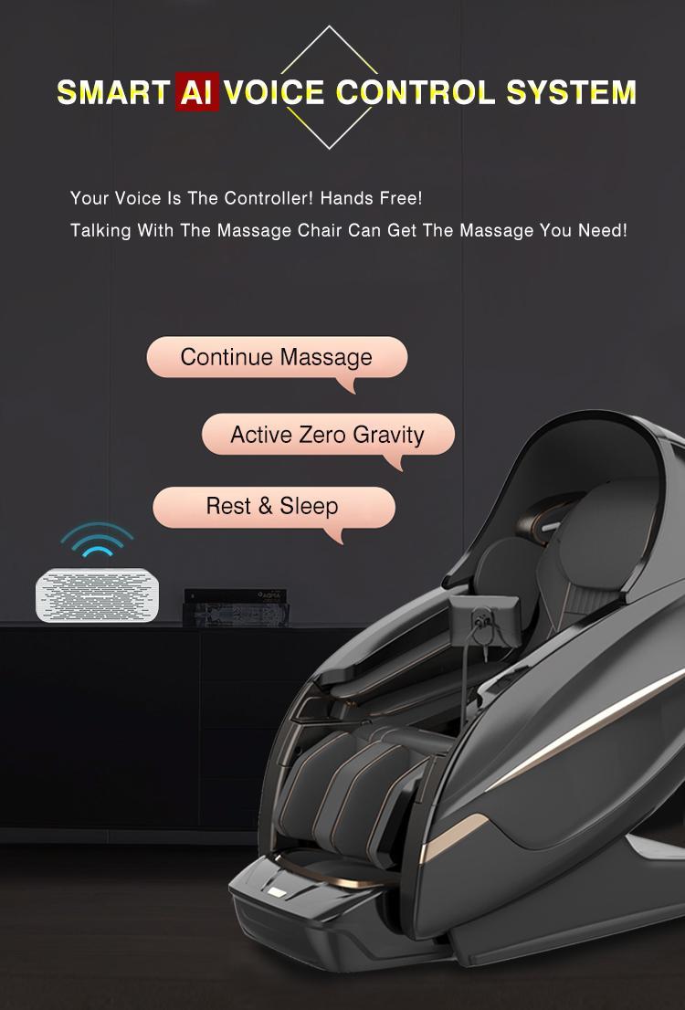 Electric Relax Free Shipping To US Full Body Recliner Shiatsu Massage Chair 10
