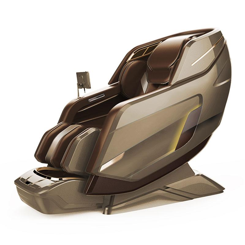 Wholesale OEM Vibrating 3D SL Full Body Foot Spa Electronic Massage Chair 1