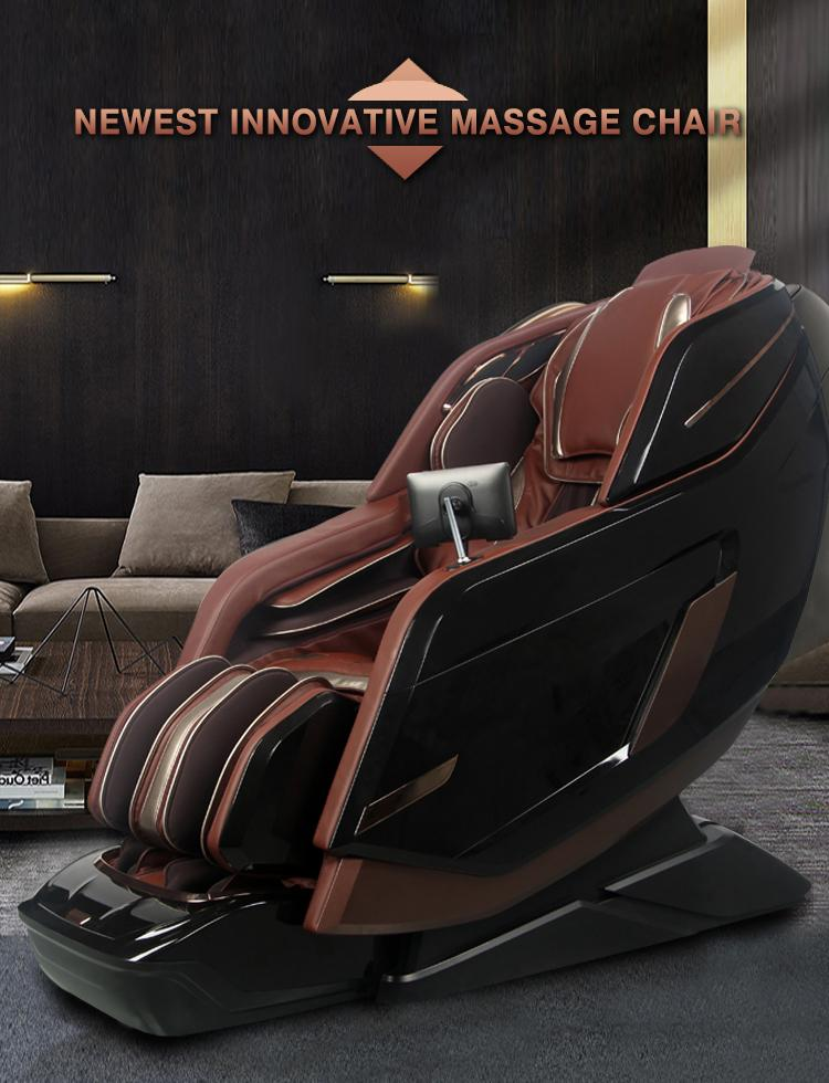 Wholesale OEM Vibrating 3D SL Full Body Foot Spa Electronic Massage Chair 7