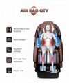 Wholesale OEM Vibrating 3D SL Full Body Foot Spa Electronic Massage Chair 9