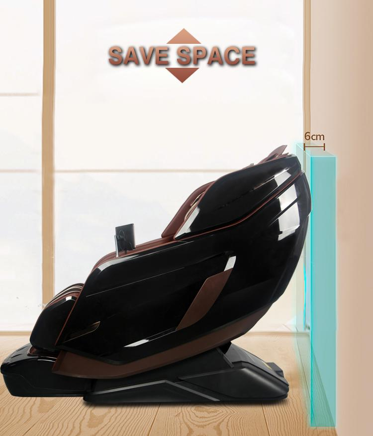 Wholesale OEM Vibrating 3D SL Full Body Foot Spa Electronic Massage Chair 13