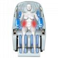 Luxury Modern Full Body Shiatsu Foot Spa Yoga Stretch Massage Chair 4