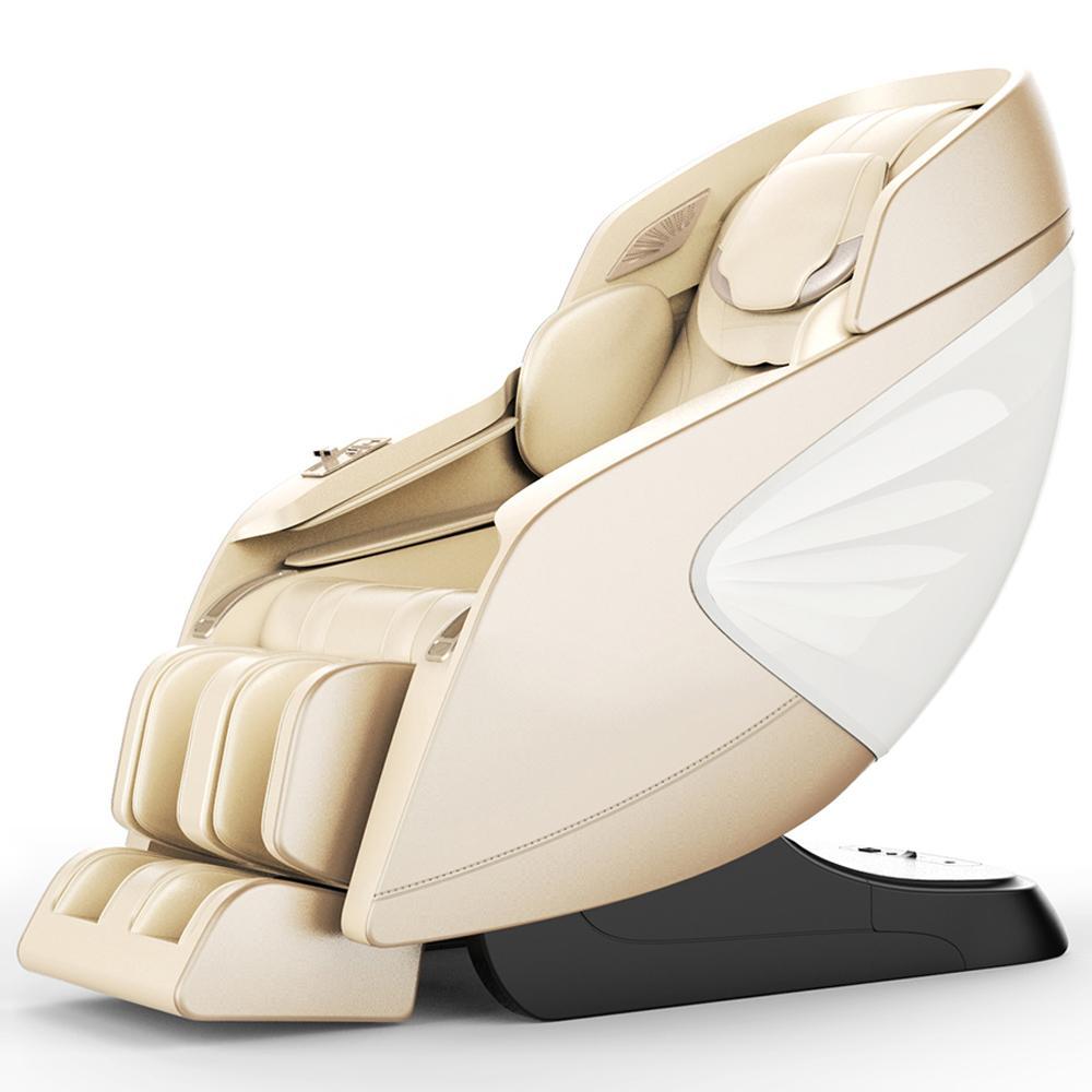 Luxury Modern Full Body Shiatsu Foot Spa Yoga Stretch Massage Chair 1