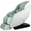 Luxury Modern Full Body Shiatsu Foot Spa Yoga Stretch Massage Chair