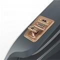 Luxury Modern Full Body Shiatsu Foot Spa Yoga Stretch Massage Chair 6