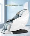 Luxury Modern Full Body Shiatsu Foot Spa Yoga Stretch Massage Chair 7
