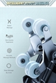 Luxury Modern Full Body Shiatsu Foot Spa Yoga Stretch Massage Chair 8