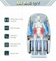 Luxury Modern Full Body Shiatsu Foot Spa Yoga Stretch Massage Chair 10