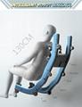 Luxury Modern Full Body Shiatsu Foot Spa Yoga Stretch Massage Chair 11