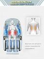 Luxury Modern Full Body Shiatsu Foot Spa Yoga Stretch Massage Chair 12