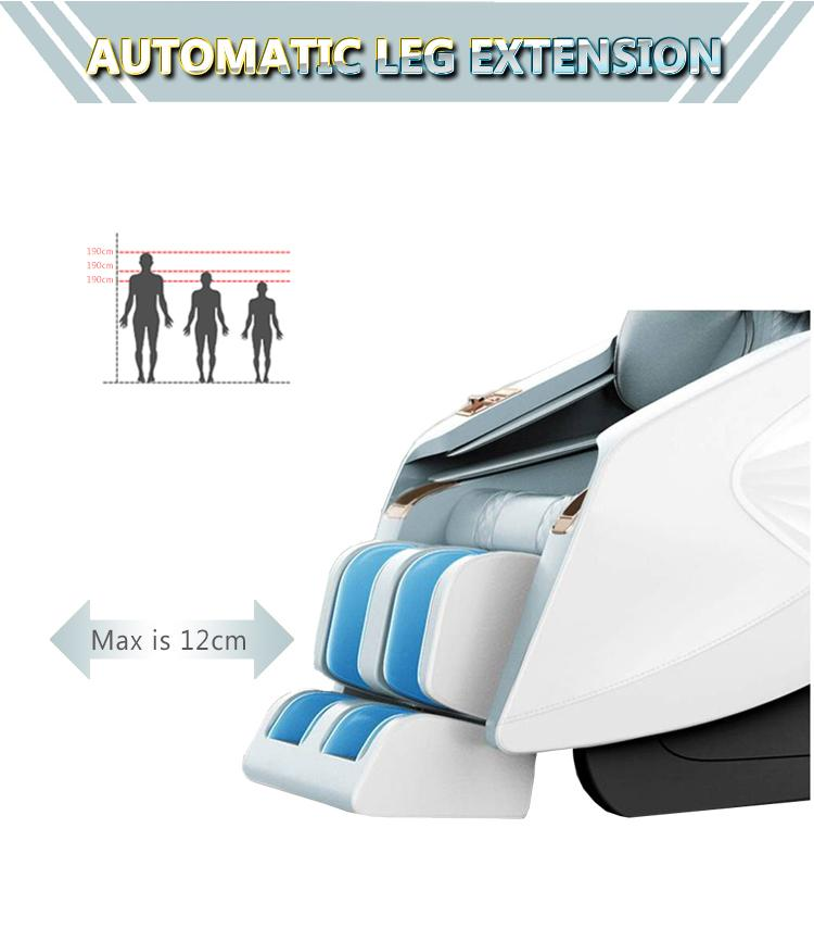 Luxury Modern Full Body Shiatsu Foot Spa Yoga Stretch Massage Chair 14