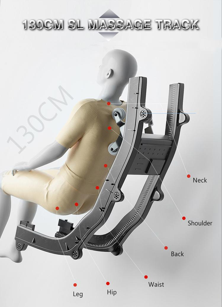 High Quality Body Application Recliner Massage Chair 12