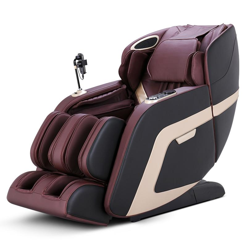 China Manufacturer Recliner SL Touch Screen Foot Spa Massage Chair Electric  1
