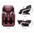 China Manufacturer Recliner SL Touch Screen Foot Spa Massage Chair Electric  15