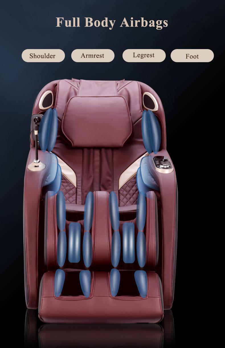Beauty Salon Equipment Electric Relax Sex Air Pressure Foot Spa Massage Chair 12