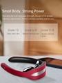 Manual Remote Heat Intense Pulse Neck Shoulder Massager