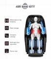 Easy Control Touch Screen Voice Full Body Recliner Massage Chair