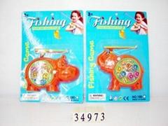 上鏈釣魚玩具