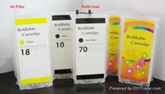 HP 130 ml refillable cartridge