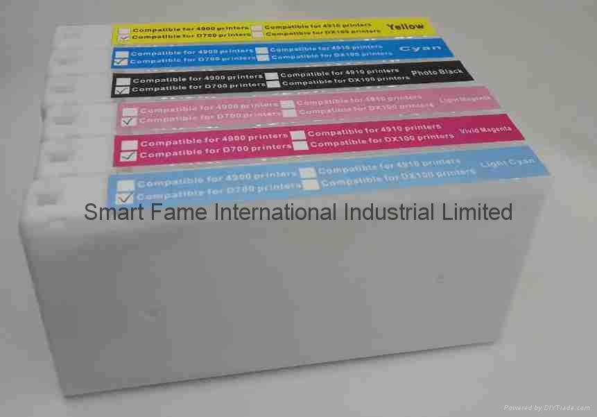 EPSON D700, Fuji Dx-100墨盒 4