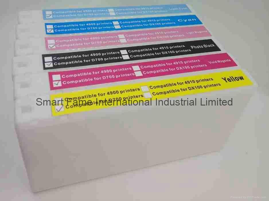 EPSON D700, Fuji Dx-100墨盒 5