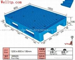 蘇州塑料托盤倉儲物流帶蓋托盤