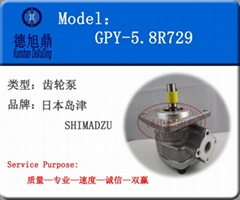 日本SHIMADZU 齿轮泵GPY系列