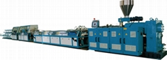 PVC Windows and Door Profiles Extrusion Line