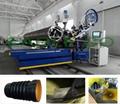 Krah profiled pipes machine