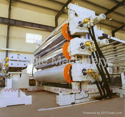 Pe Pp Ps Hips Abs Pvc Sheet Extrusion Production Line