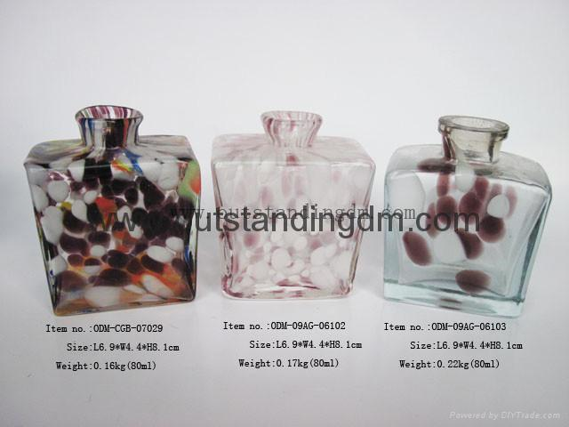 3pcs glass bottle