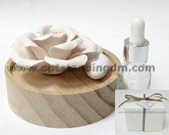 陶瓷禮品,陶瓷花,香味陶瓷