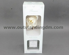 2pcs sola flower with nag with glass bottle