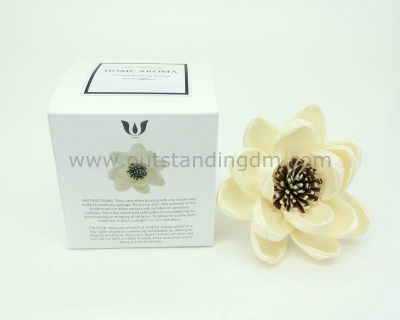 decprative sola flower for gift set