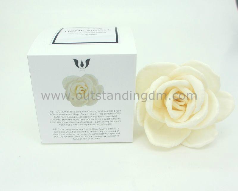 decorative sola flower for gift set