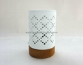 white ceramic  electrial oil burner