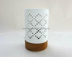white ceramic  electrial oil burner