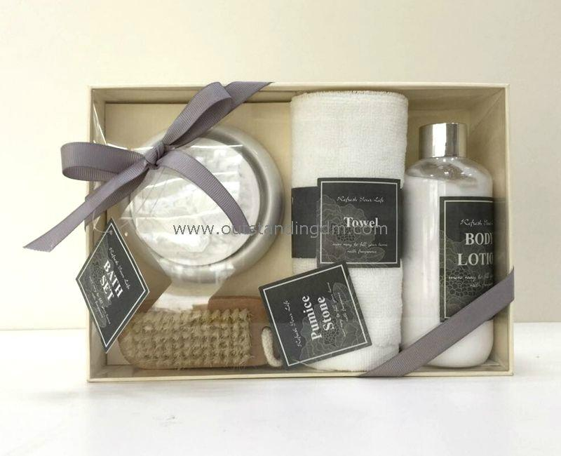 a set of bath for gift set
