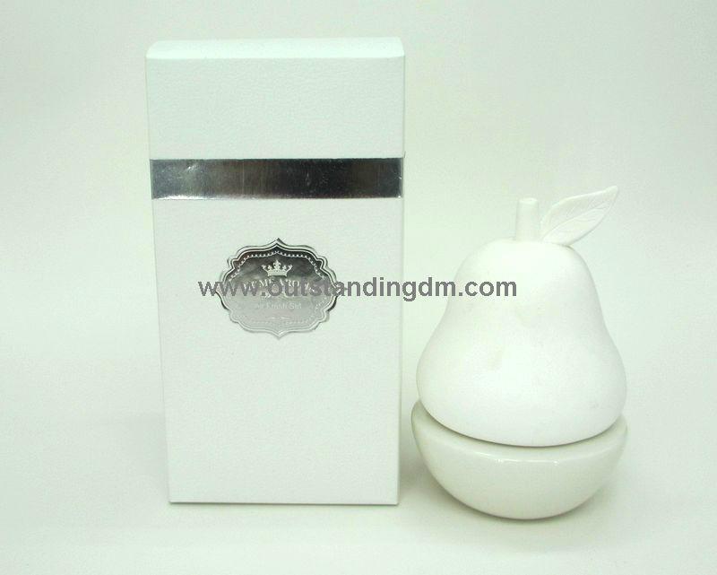 ceramic pear with essential oil