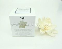 white sola flower for decoration