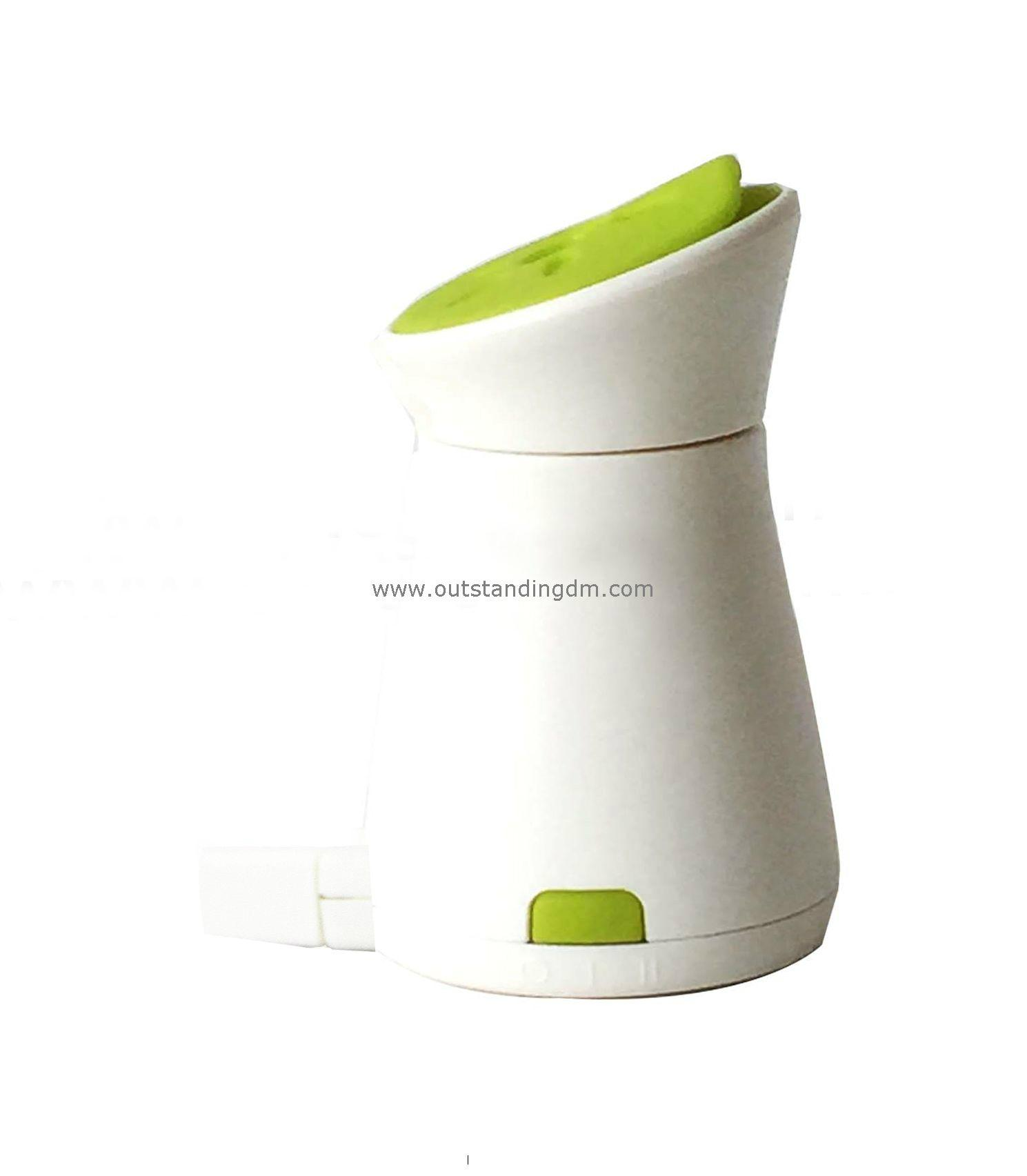 green electronic aroma diffuser