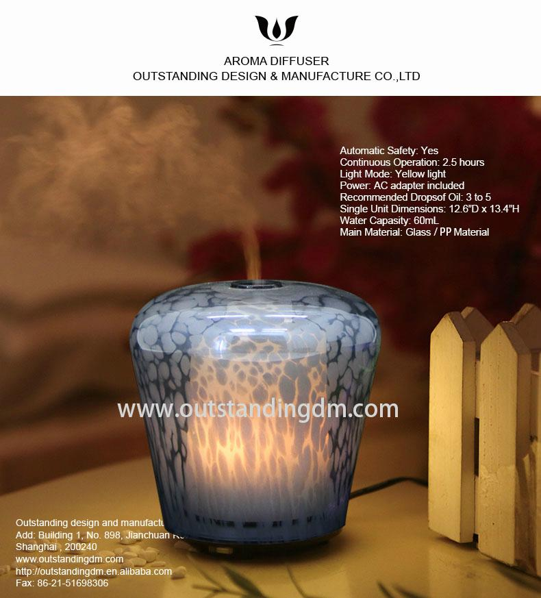 2018 aromatherapy ultrasonic essential oil aroma diffuser wholesale  2