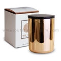 Larger Volume Golden Scented Candle