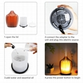 120 ml Glass  Electronic Aroma Diffuser