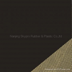 rubber sheet with metal