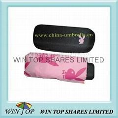 5 folds umbrella